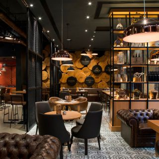 A photo of The Warehouse Wine & Tapas Bar  / Pearl Rotana Capital Centre / Abu Dhabi restaurant