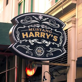 A photo of Mustang Harry's restaurant