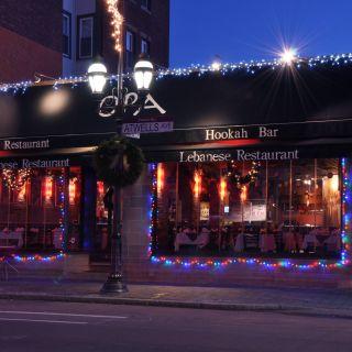 A photo of Opa Restaurant Providence restaurant