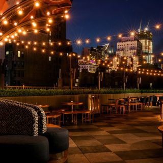 A photo of Magic Hour Rooftop Bar & Lounge restaurant