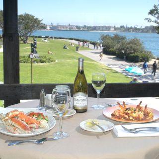 A photo of Harbor House restaurant