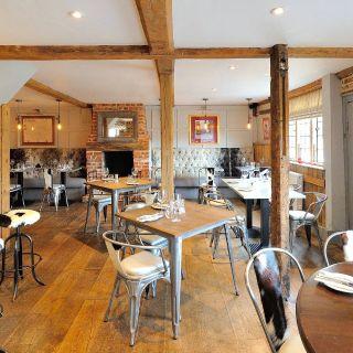 Een foto van restaurant The Dog at Wingham