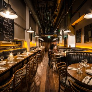 A photo of Brasserie Sixty6 restaurant
