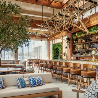 Una foto del restaurante El Mezquite Wooden Grill