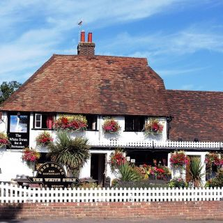 A photo of The White Swan restaurant