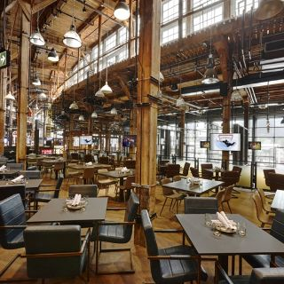 A photo of The Rec Room - Toronto Roundhouse restaurant