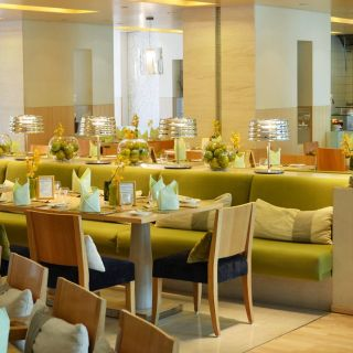 A photo of Ginger Restaurant - Park Rotana Hotel restaurant