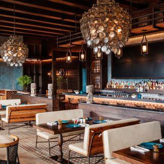 Una foto del restaurante La Cantina at Vidanta Riviera Maya