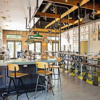A photo of Pie Tap Pizza Workshop + Bar - Henderson Ave restaurant