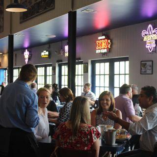 A photo of Amberjax Fish Market Grill at Trinity Groves restaurant