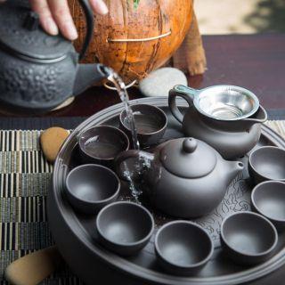 A photo of Zen tea lounge restaurant