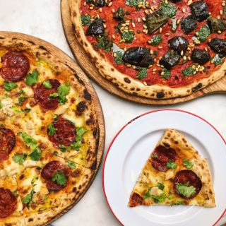 A photo of Gordon Ramsay Street Pizza @ York & Albany restaurant