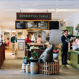 A photo of Henrietta's Table restaurant