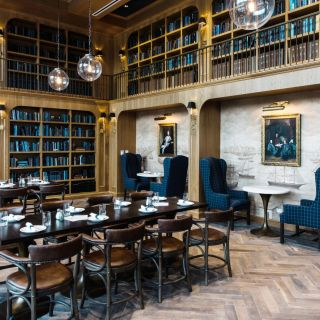 A photo of The Library restaurant