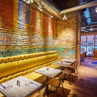 Een foto van restaurant Giraffe - Exeter