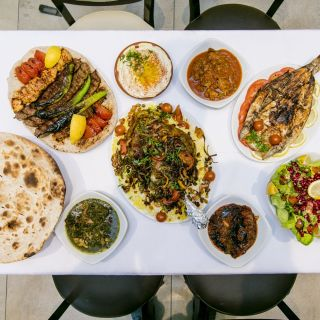 A photo of Alkababgi Mezze&grill restaurant