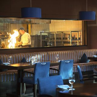 A photo of Blue Grill - Yas island Rotana restaurant