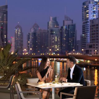 A photo of Accents Restaurant & Terrace - InterContinental Dubai Marina restaurant
