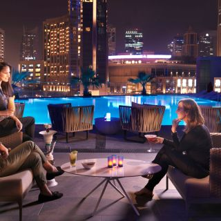 A photo of Urban Lounge - InterContinental Dubai Marina restaurant