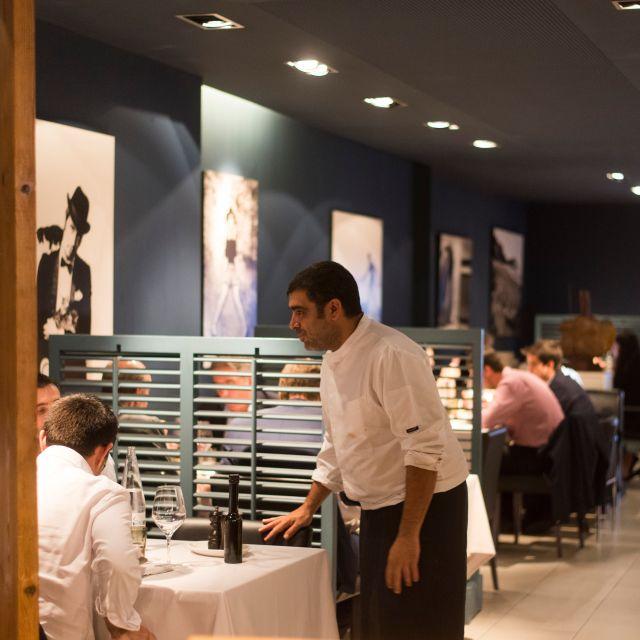 Blau Bcn By Marc Roca Restaurant Barcelona Barcelona Opentable