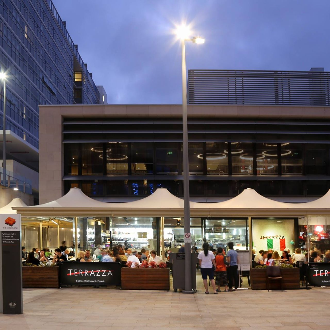 Terrazza Pizzeria Chatswood Au Nsw Opentable