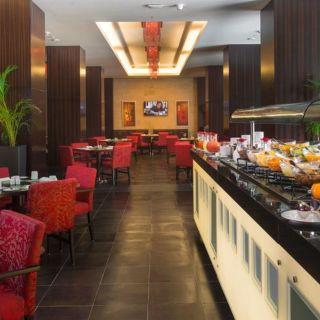 A photo of Mosaique - Crowne Plaza Riyadh Hotel & Convention Center restaurant