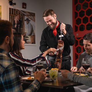 A photo of Pampa Brazilian Steakhouse Calgary Downtown restaurant