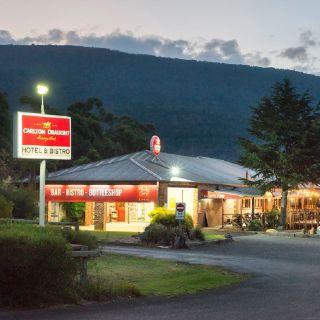 A photo of Halls Gap Hotel restaurant