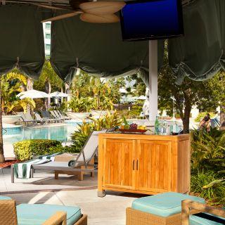 Hilton Orlando - Pool Cabanas