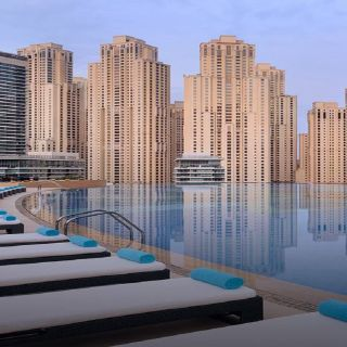 A photo of Shades  - Address Dubai Marina restaurant