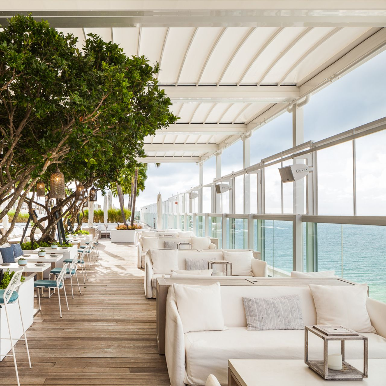 Watr At The 1 Rooftop Restaurant Miami Fl Opentable