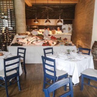 A photo of Estiatorio Nostos restaurant
