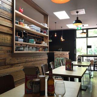 A photo of Tomahawks restaurant