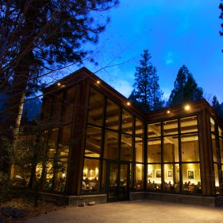 A photo of Yosemite Valley Lodge Mountain Room restaurant