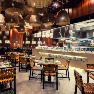 A photo of Jing Asia  - Crowne Plaza Hotel Yas Island restaurant