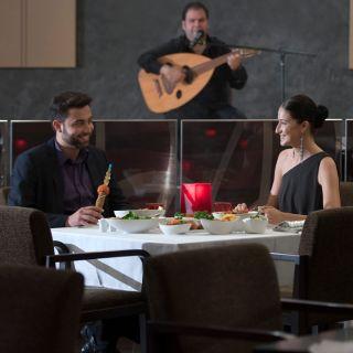 A photo of Barouk - Crowne Plaza Hotel Yas Island restaurant