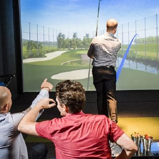 A photo of Top Golf Swing Suite at M Resort restaurant