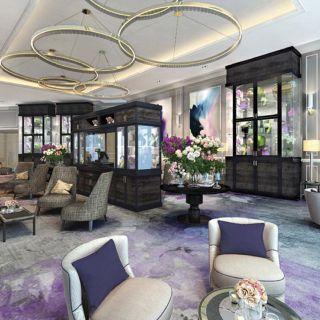 A photo of Tea Lounge at Address Fountain Views restaurant