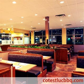 A photo of COTE ST-LUC BAR-B-Q restaurant