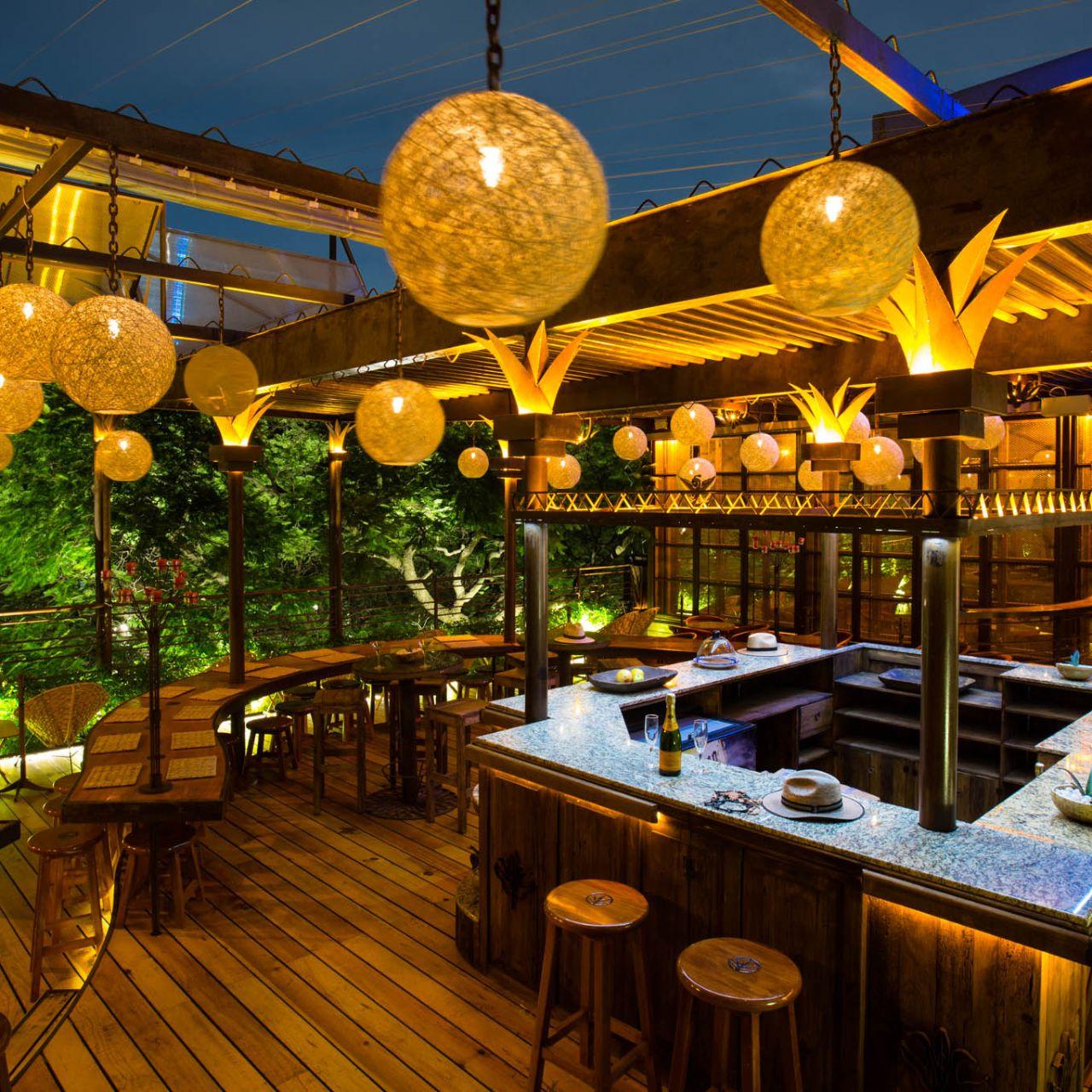 Terraza Hotel Parque Mexico Restaurant Ciudad De México