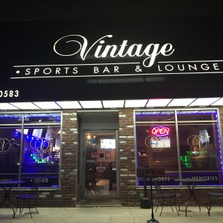 Una foto del restaurante Vintage Sports Bar & Lounge