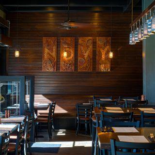 A photo of NOVY restaurant