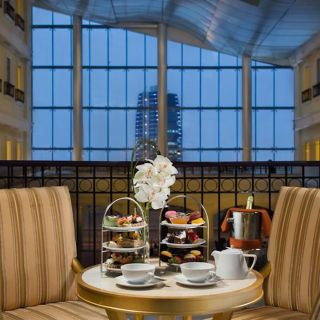 A photo of Sky Lounge - Kempinski Al Othman Hotel restaurant