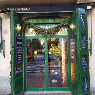 Una foto del restaurante El Celler del Nou Priorat