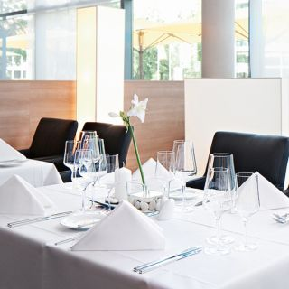 A photo of Restaurant Papillon im Seminaris CampusHotel Berlin restaurant