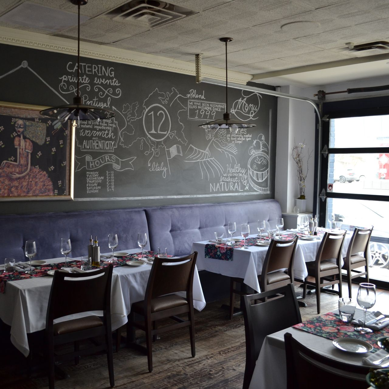 12 Tables Restaurant North York On Opentable