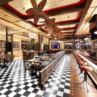A photo of SUGARCANE raw bar grill Las Vegas restaurant