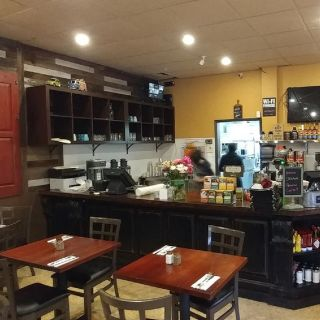 A photo of The New Spot on Polk restaurant