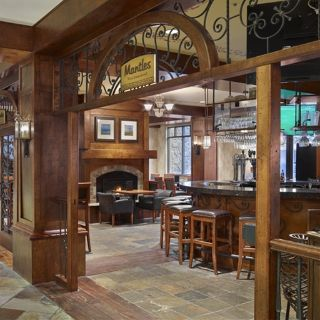 A photo of Mantles Restaurant & Lounge - Sun Peaks Grand restaurant