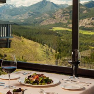 The Dining Room at Sun Mountain Lodge
